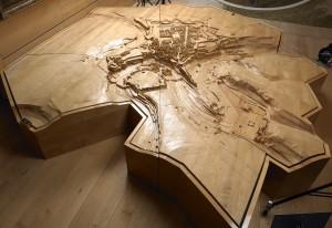 Maquette 1683, Exposition permanente