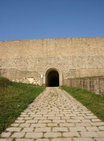 Randonée à travers la forteresse