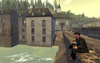 Pfaffenthal virtuel 1867 Pont