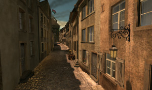 Pfaffenthal virtuel 1867 Siechegaass 1