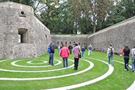 Randonnée à travers la forteresse