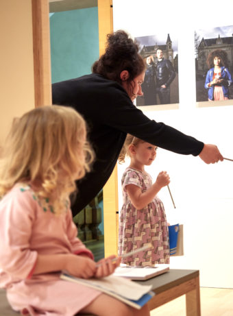 Interactive guided tour for children from 3 to 6 years old